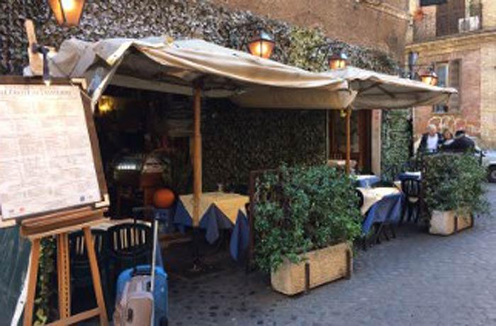 Fachada de Alle Fratte di Trastevere qué ver en Trastévere