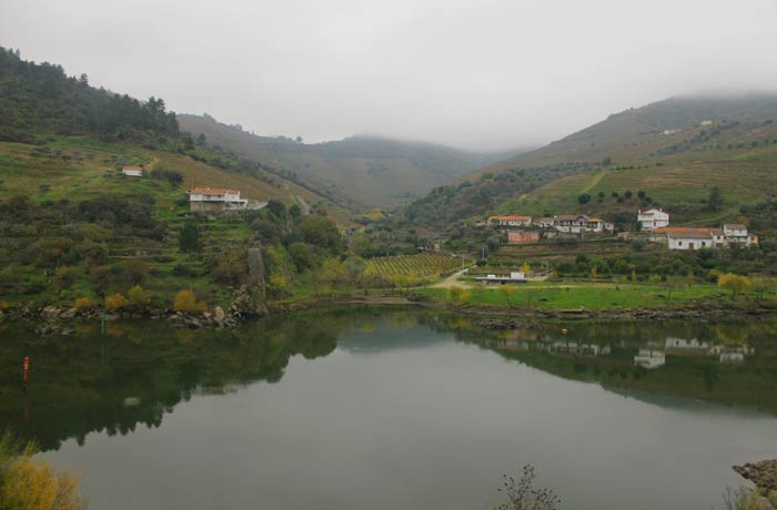 Imagen obtenida desde el tren Pocinho Regua