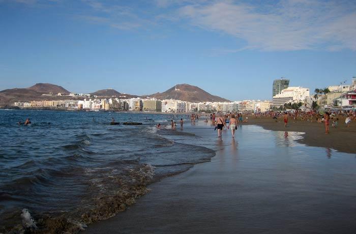 Playa de Las Canteras qué ver en Gran Canaria