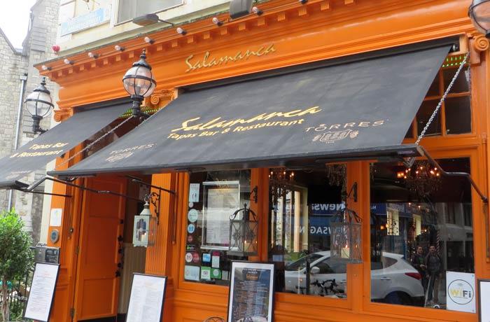 Bar Salamanca en Dublín, haciendo patria una semana en Irlanda