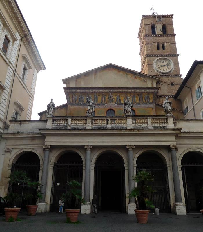 Iglesia de Santa María in Trastévere qué ver en Trastévere