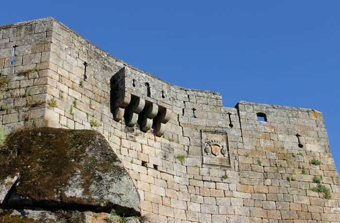 Balcón de Pilatos del castillo Sortelha Portugal