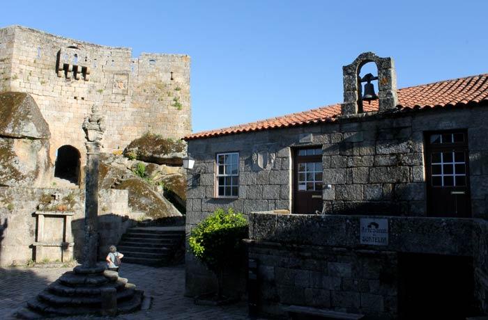 Casa de la Cámara o Ayuntamiento y antigua cárcel Sortelha Portugal