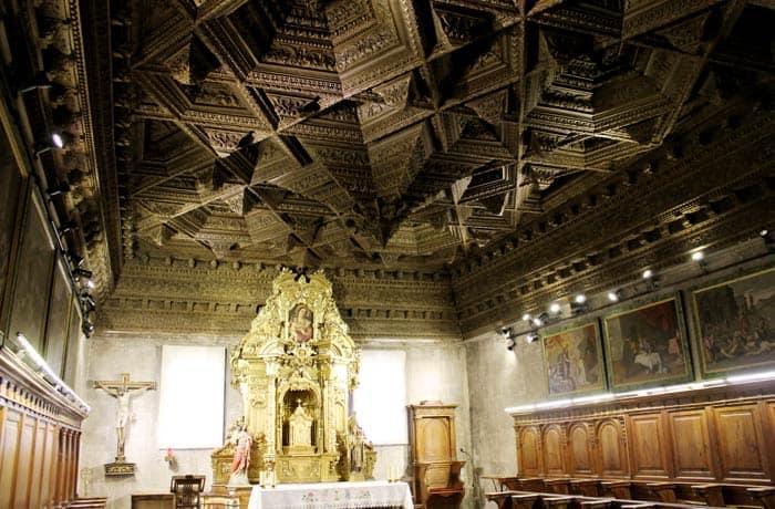 Capilla Honda o del Sagrado Corazón de Jesús de la Catedral que ver en Cuenca