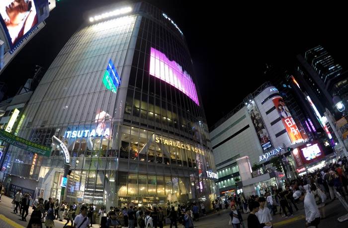 Starbucks de Shibuya, el mejor mirador del cruce