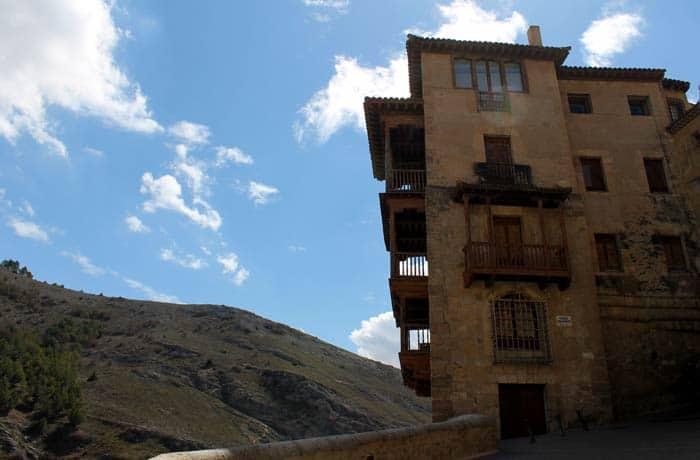 Perspectiva de las Casas Colgadas que ver en Cuenca