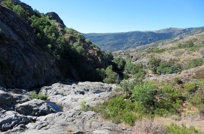 Ascenso por el cañón del Tera