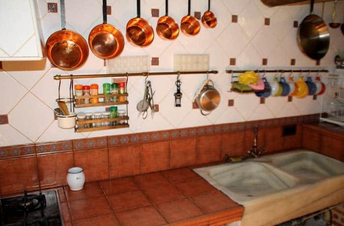 Cocina de la casa rural Huerto Tía Juliana Valero Salamanca