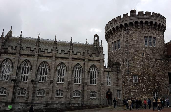 Dublin Castle Dublín en un día