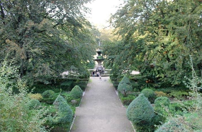 Vista del Jardín Botánico qué ver en Coímbra