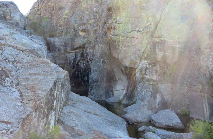 Poza de las Ninfas cañón del Tera
