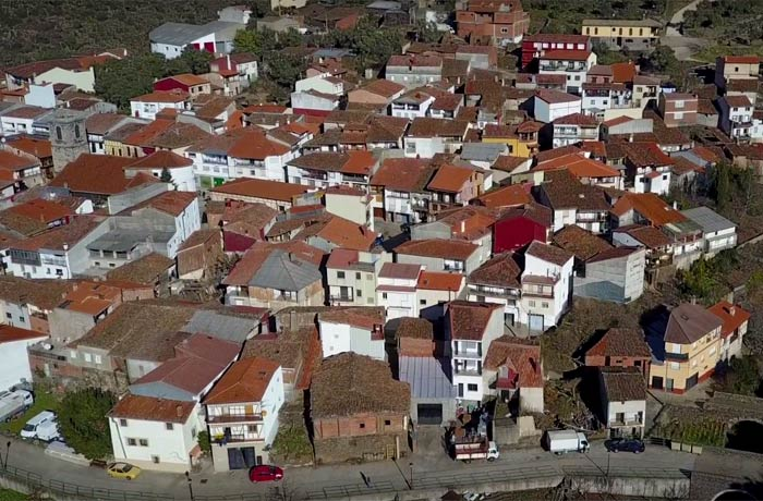 Vista aérea de Valero Salamanca