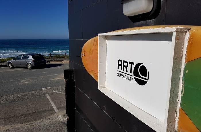 Art Surf Camp surfear en Galicia