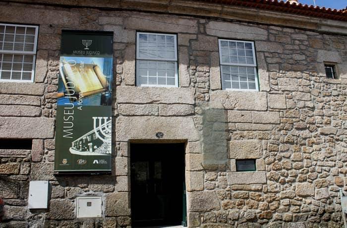 Fachada del Museo Judaico de Belmonte Portugal