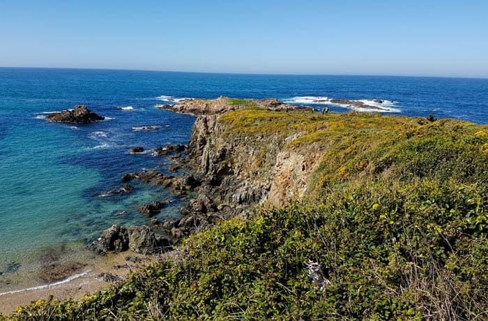 Mirador de Santa Mariña surfear en Galicia