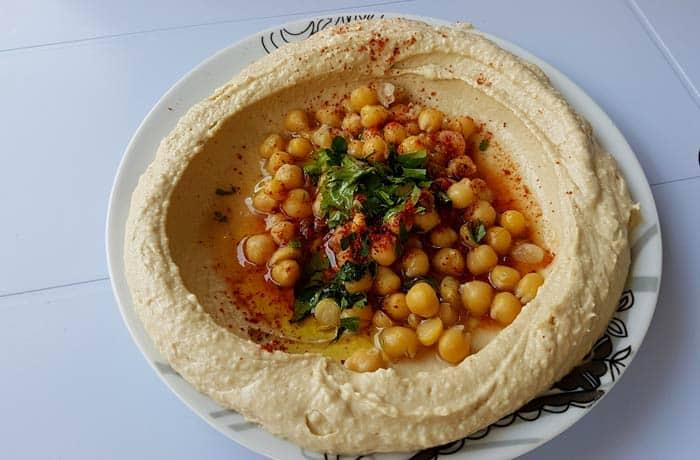 Hummus en Nazaret Israel por libre