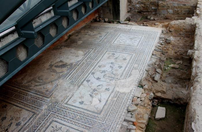 Mosaico romano qué ver en Astorga