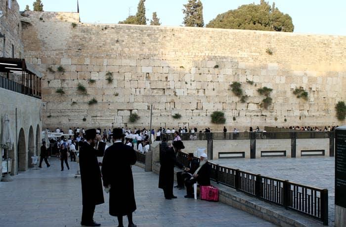 Vista del Muro de las Lamentaciones Israel por libre