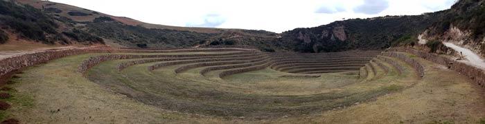 Laboratorio agrícola inca en Moray Machu Picchu consejos