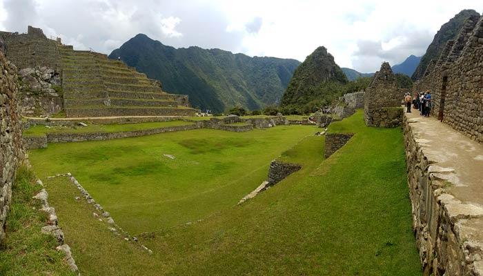 Machu Picchu. Plaza Central