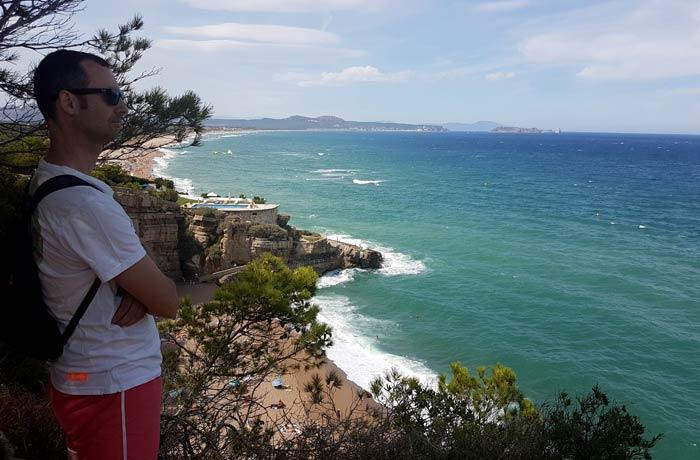 Divisando la cala de Illa Roja mejores calas de la Costa Brava