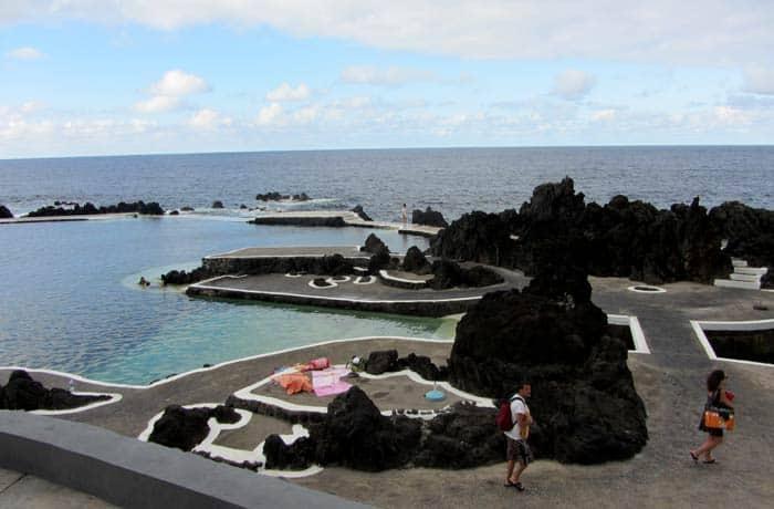 Piscinas naturales de Porto Moniz playas de Madeira