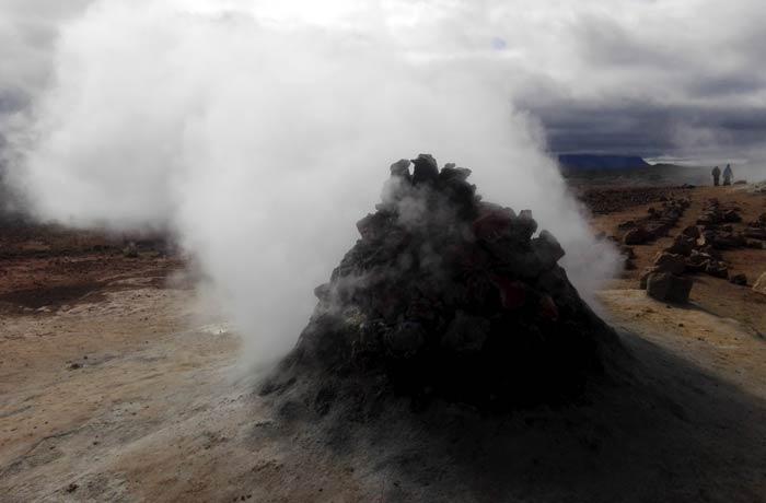 Fumarola de Hverir Islandia por libre