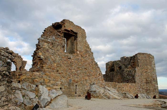 Restos del castillo de Castelo Rodrigo
