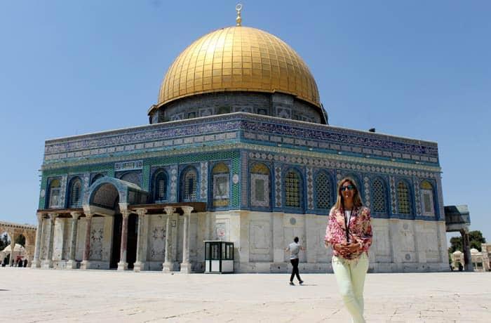 Estefanía y la Cúpula de la Roca qué ver en Jerusalén