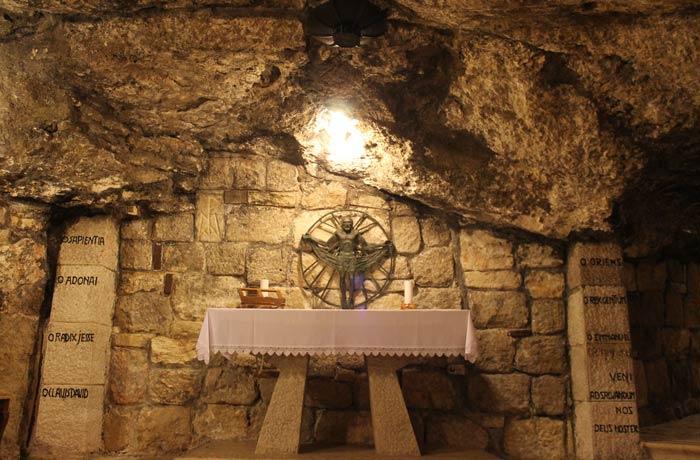 Gruta de San José en la basílica de la Natividad Belén desde Jerusalén