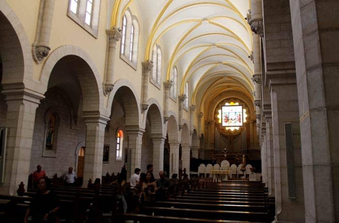 Iglesia de Santa Catalina Belén desde Jerusalén