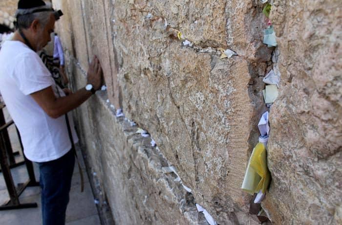 Mensajes en el Muro de las Lamentaciones qué ver en Jerusalén