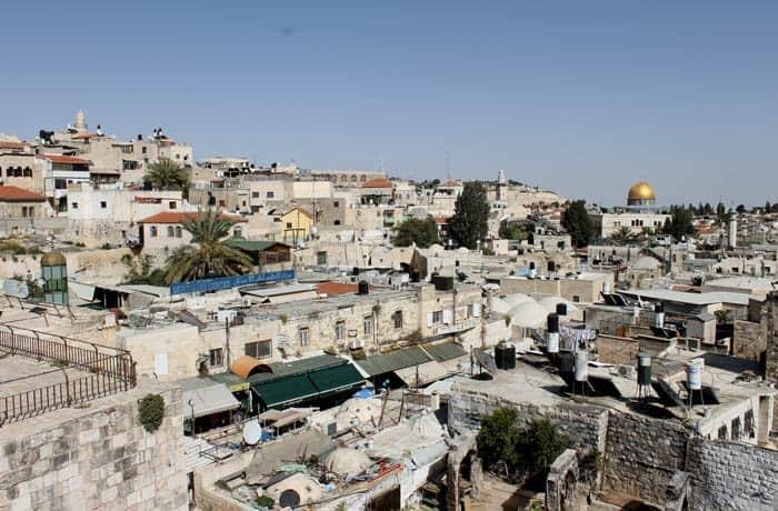 Vistas de la ciudad vieja desde las murallas qué ver en Jerusalén