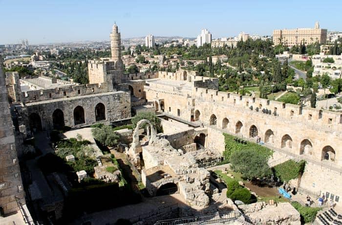 Vistas desde la Torre de David qué ver en Jerusalén