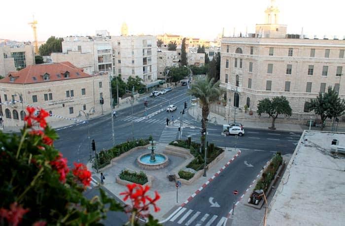 Vistas desde nuestra habitación del hotel Prima Kings qué ver en Jerusalén