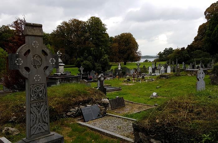 Cementerio de la abadía de Muckross Anillo de Kerry