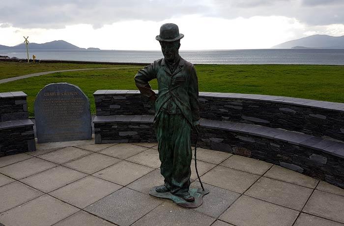 Homenaje a Charles Chaplin en Waterville Anillo de Kerry