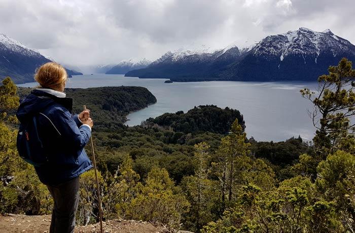 Ruta de senderismo en el Circuito Chico de Bariloche Argentina por libre