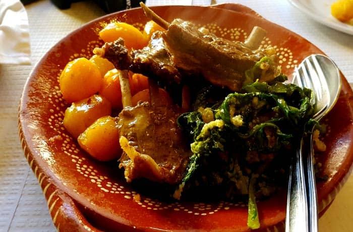 Jabalí al estilo del restaurante Sao Marcos comer en Trancoso