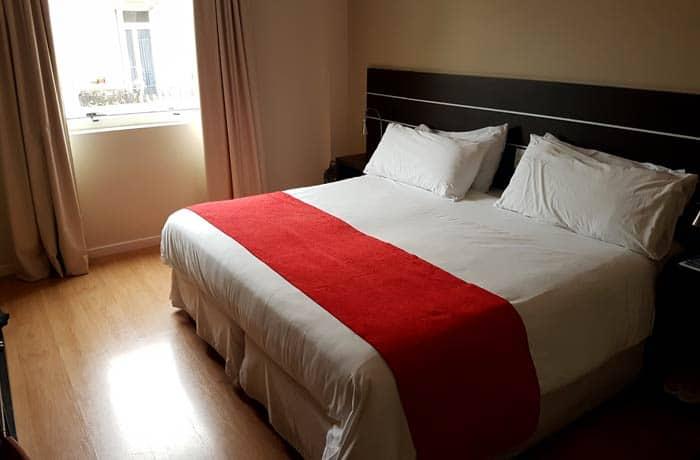 Habitación del hotel Merit San Telmo Argentina por libre