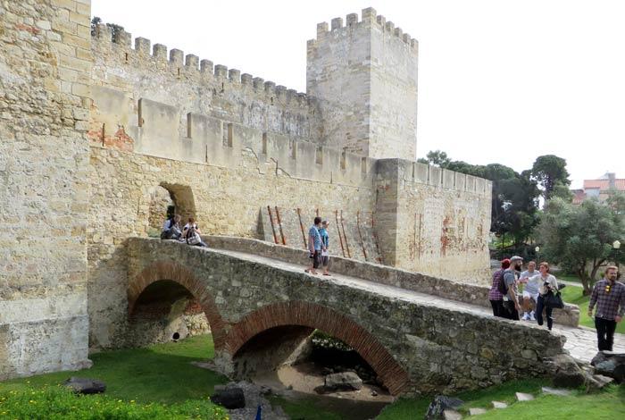 Castelo Sao Jorge ruta por la Alfama