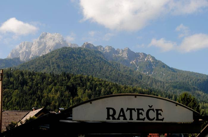 Ratece ruta por Eslovenia