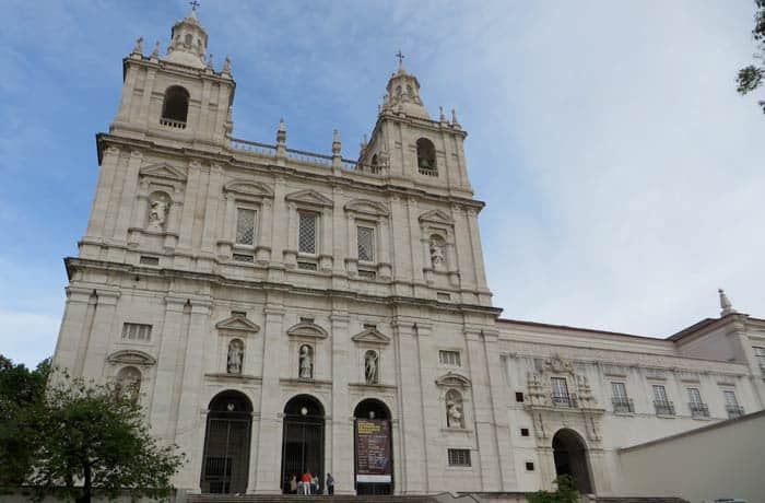 Mosteiro de Sao Vicente de Fora ruta por la Alfama