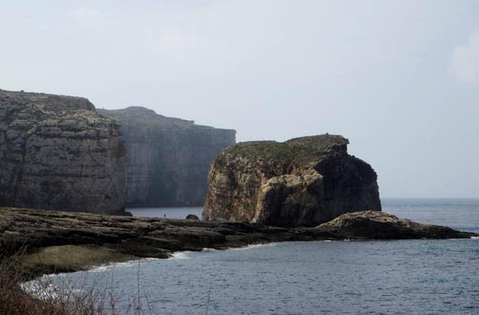 Acantilados junto a la Ventana Azul que ver en Gozo