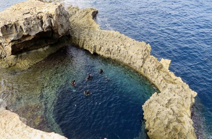Blue Hole de Gozo