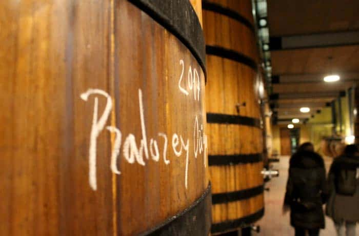 Recorriendo las bodegas Pradorey Ribera del Duero Burgalesa