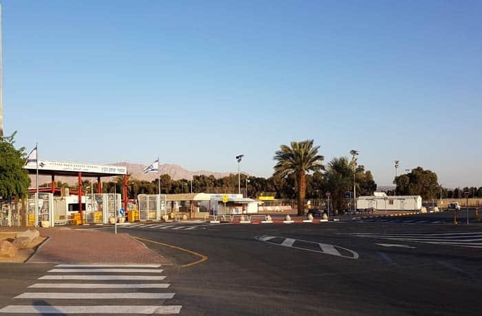Paso fronterizo de Israel a Jordania en Eilat