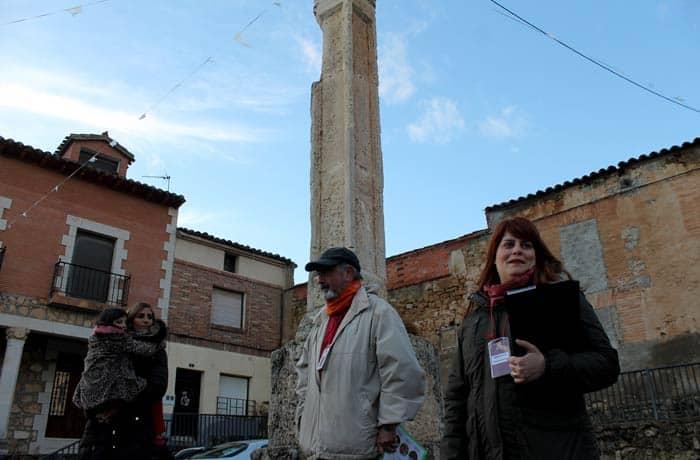 Agustín y Marta, nuestros guias en Zazuar Ribera del Duero Burgalesa