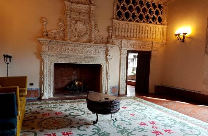 Una de las salas del palacio de Avellaneda en Peñaranda de Duero Ribera del Duero Burgalesa