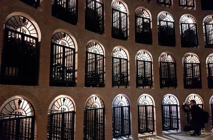 Sala de los nichos de Pradorey Ribera del Duero Burgalesa